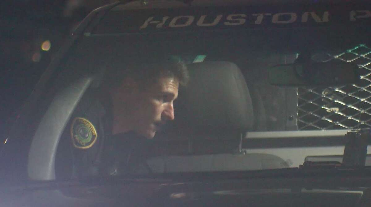 Houston police investigate after a 5-year-old girl was shot in the 4600 block of West 34th Street on Monday, Feb. 24, 2020.