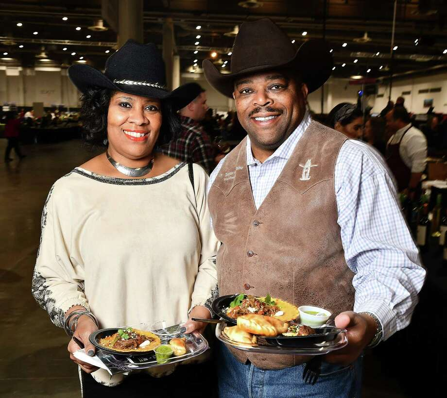 The 2020 Rodeo Uncorked! Roundup & Best Bites competition was held Feb. 23 at NRG Center. The kickoff to the 2020 rodeo season attracted more than 5,000 with more than 100 participating restaurants and 450 award-winning wines from the International Wine Competition. Scenes from the HLSR's 2020 Uncorked! Roundup & Best Bites Competition at NRG Center Sunday Feb. 23, 2020. Photo: Dave Rossman, Contributor / Copyright © 2020
