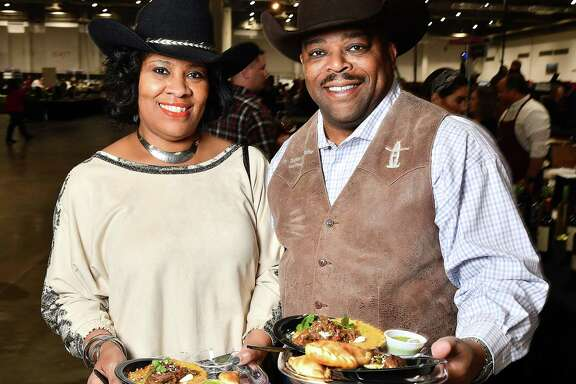Scenes from the HLSR's 2020 Uncorked! Roundup & Best Bites Competition at NRG Center Sunday Feb. 23, 2020.