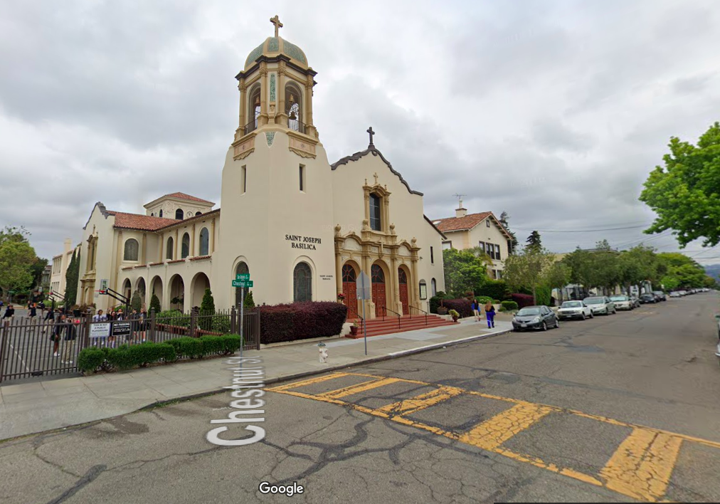 Catholic Diocese of Oakland places priest on leave over groping claim