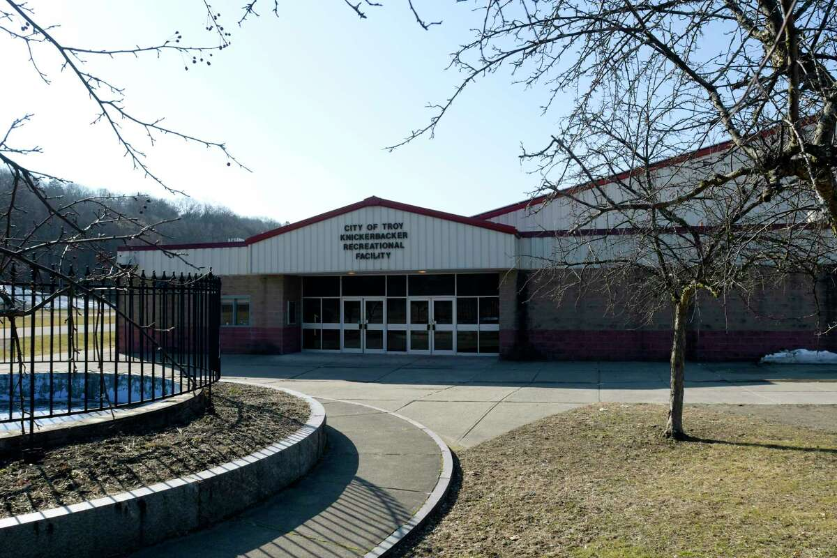 Troy has rescheduled a pop-up property tax payment event at Knickerbacker Ice Arena, pictured, to Friday, Feb. 12, 2021. The arena is located at 191 103rd St.Troy, N.Y. (Paul Buckowski/Times Union)