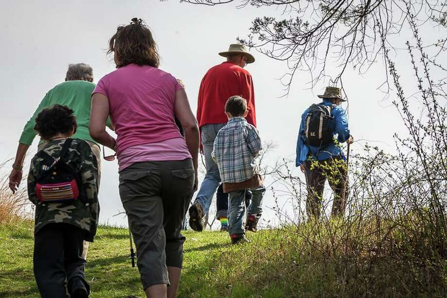 The Flanders Nature Center & Land Trust, based in Woodbury, is hosting a new trail hike series, with four hikes focused on preserves Flanders oversees. Photo: Flanders Nature Center / Contributed Photo
