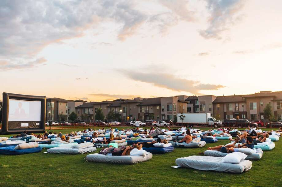 "The pop-up ""Bed Cinema"" is coming to Houston in June and promises movie-goers double-beds, blankets and pillows as part of the ""world's most comfortable"" outdoor cinema experience. Photo: BJohnsonxA And BedCinema"