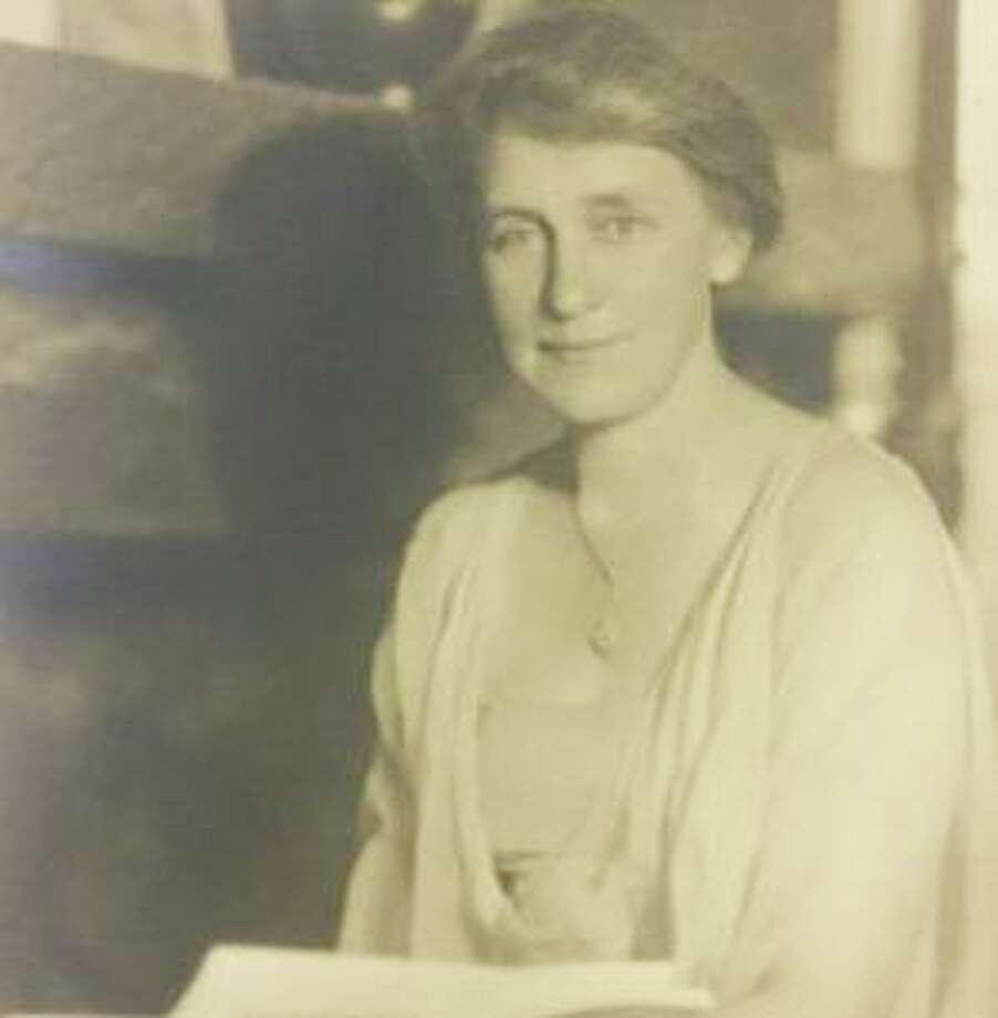 Grace Schenck Photo: Contributed Photo / Wilton Historical Society / Wilton Bulletin Contributed