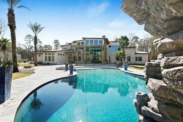The Huffman mansion at 27020 Huffman just hit the market at $5 million.