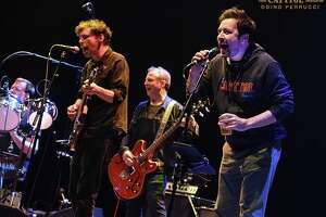 Jimmy Fallon jumped onstage at the Capitol Theatre Sunday night during a performance by Joe Russo's Almost Dead.