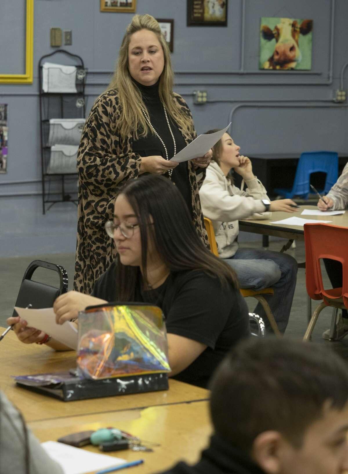 Kristie Matthies, Midland High agriculture teacher. 02/24/19 Tim Fischer/Reporter-Telegram