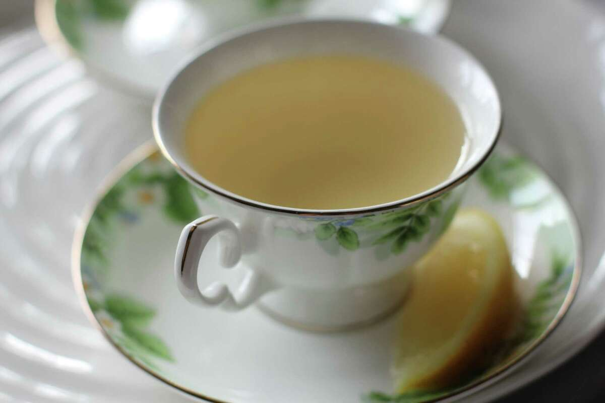 When you're under the weather, simmer sliced ginger for about 5 minutes, using one inch of the root per cup of tea.