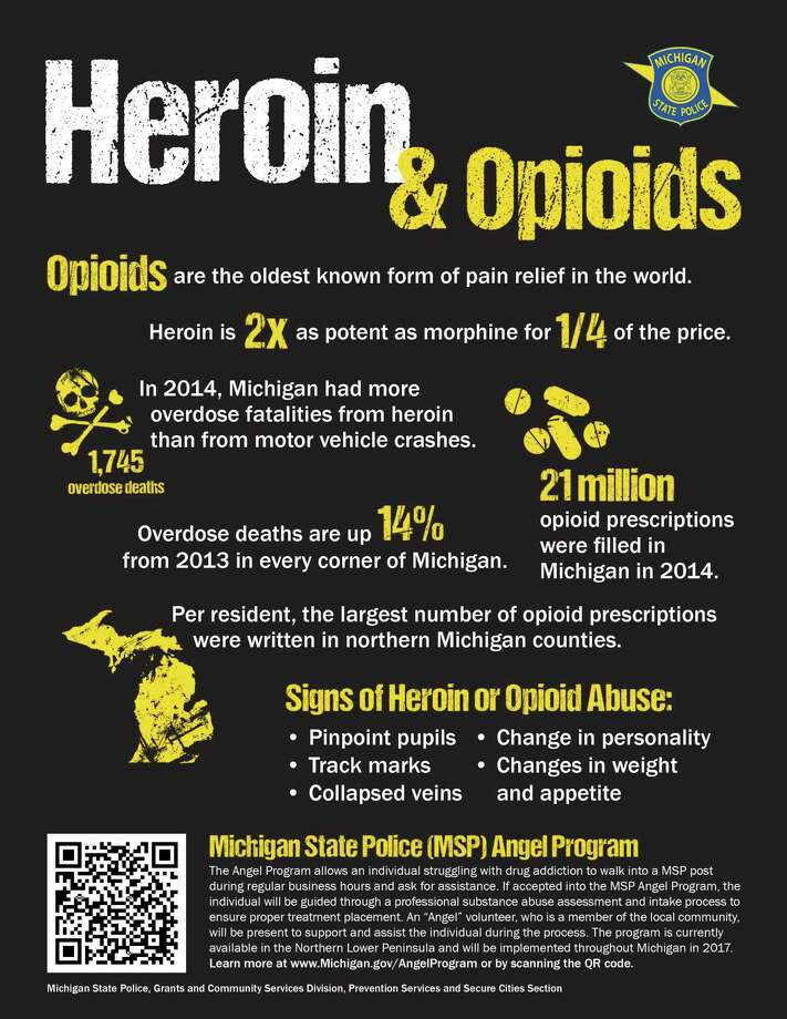 According to the MSP, heroin and opioids have contributed to 1,745 overdose fatalities in 2014. (MSP/Courtesy Photo)