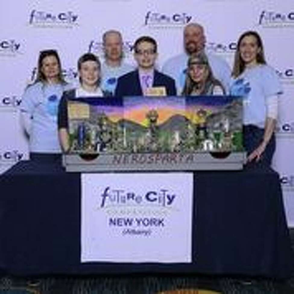 This team from the Richard H. O'Rourke Middle School in Burnt Hills won 4th place at the Future City's Competition in Washington DC.