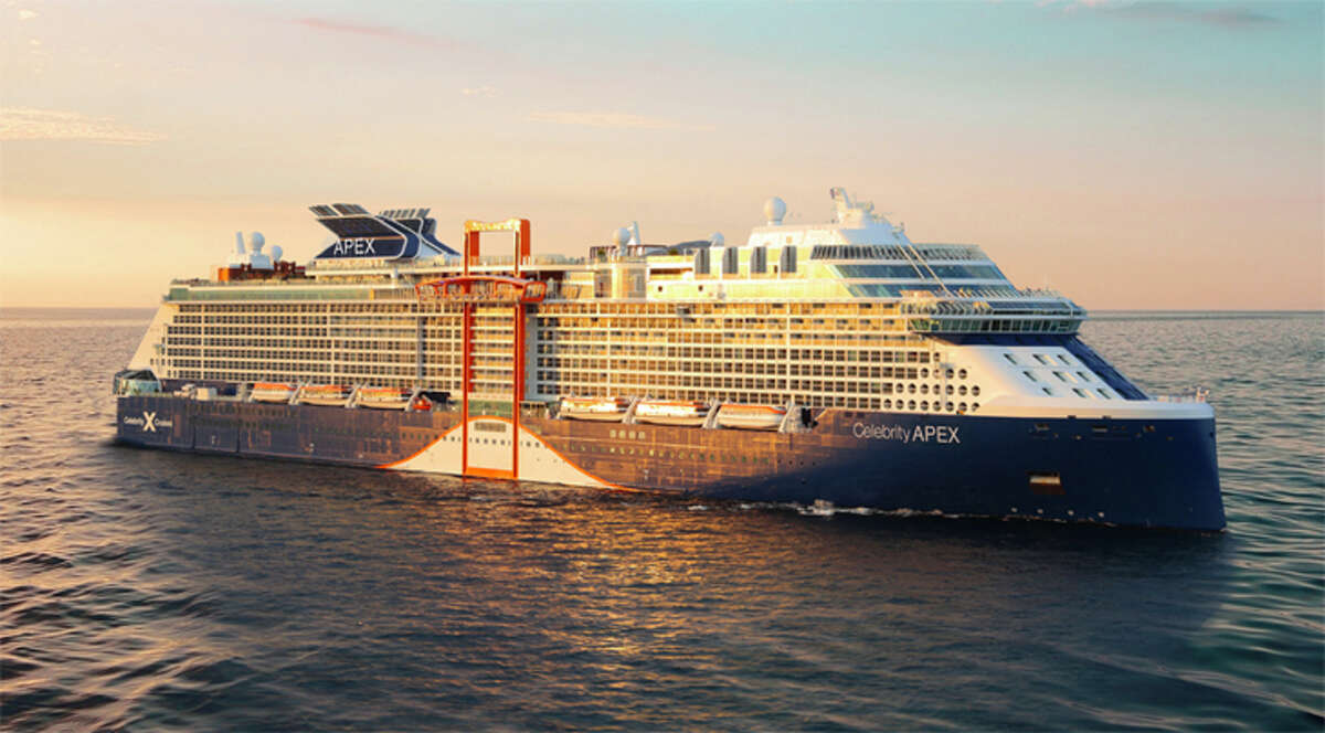 Celebrity, Royal Caribbean and Norwegian cruises now requiring some passengers to obtain doctor's note before sailing. Pictured: The Celebrity Apex