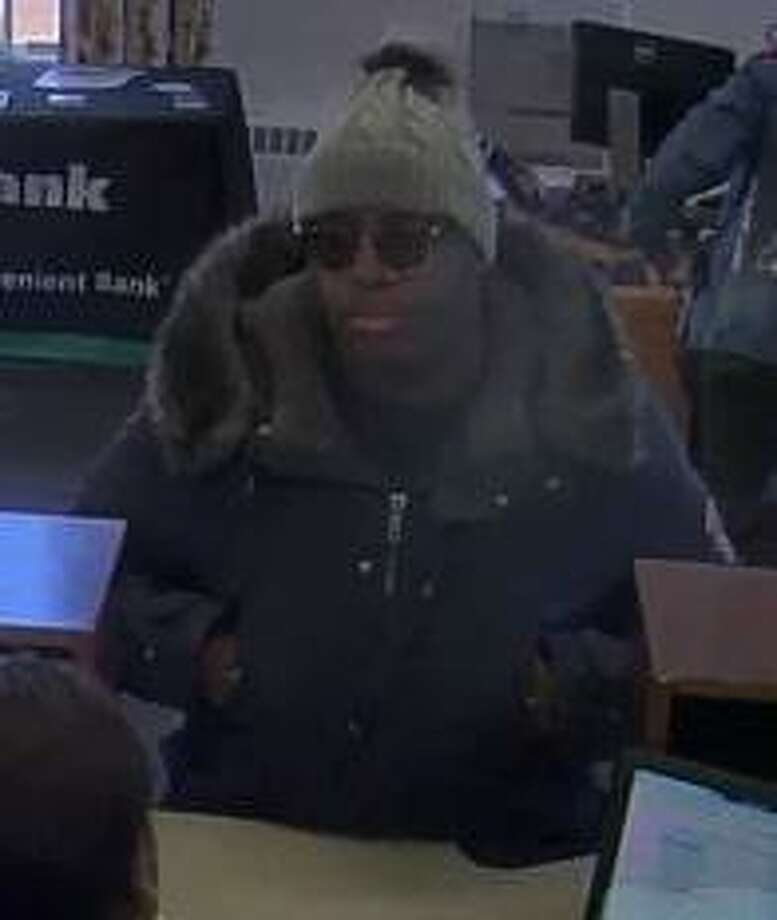 Woodbridge police are searching for a suspect after an alleged robbery at TD Bank on Amity Road Monday. Photo: Woodbridge Police Department