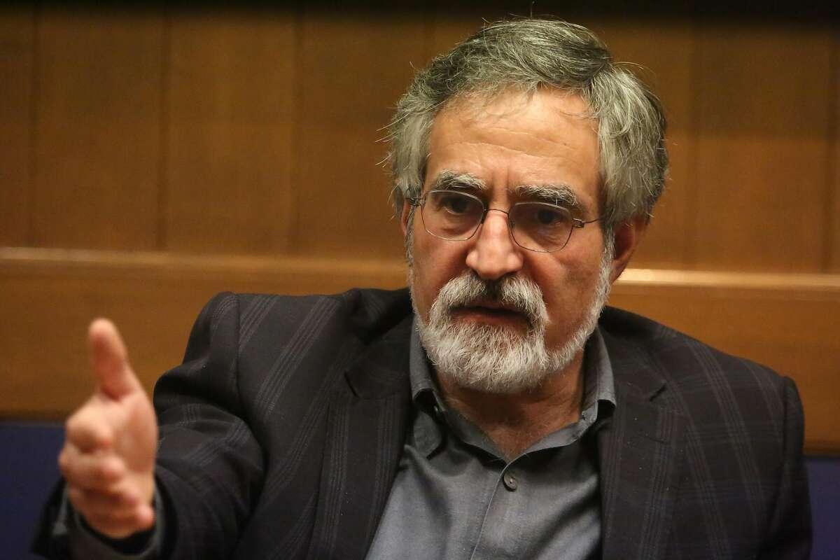 Supervisor Aaron Peskin speaks to the Chronicle Editorial Board on Wednesday, January 22, 2020 in San Francisco, Calif.
