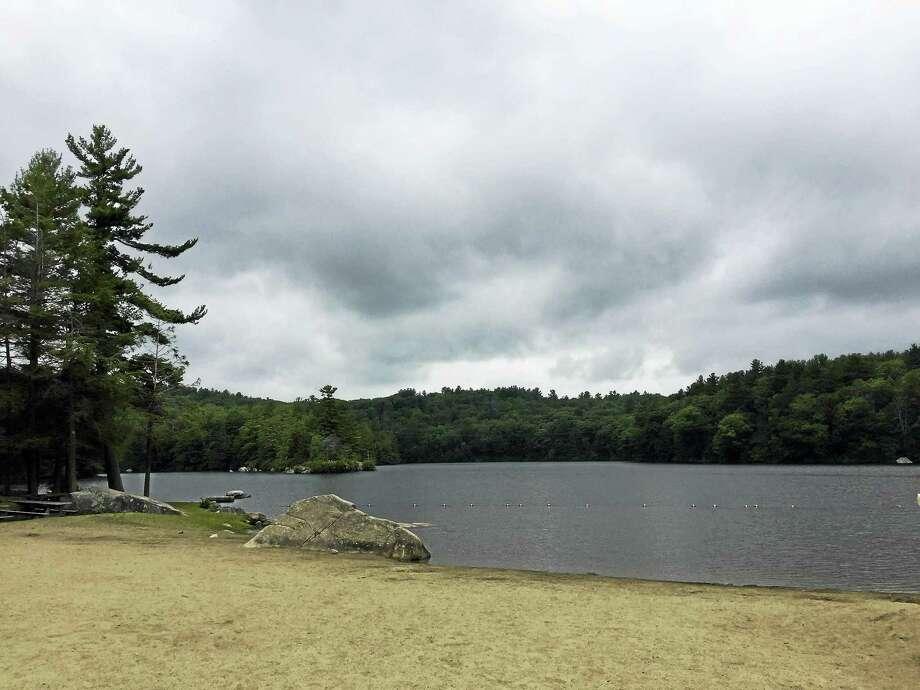 File photo of Burr Pond State Park in Torrington, Conn. Photo: Hearst Connecticut Media / Ben Lambert