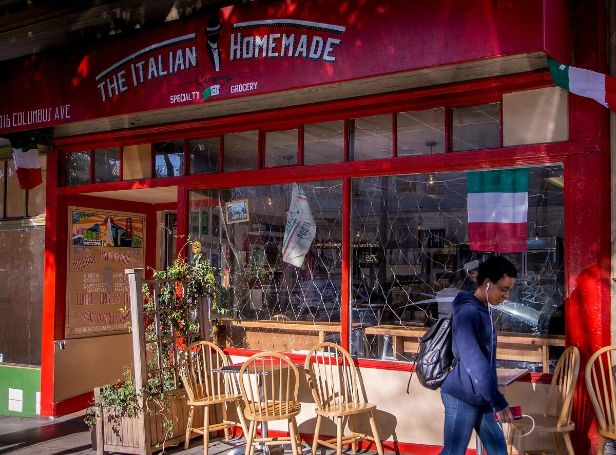 The exterior of Italian Homemade Company in San Francisco, Calif., is seen on Wednesday, February 18th, 2015.
