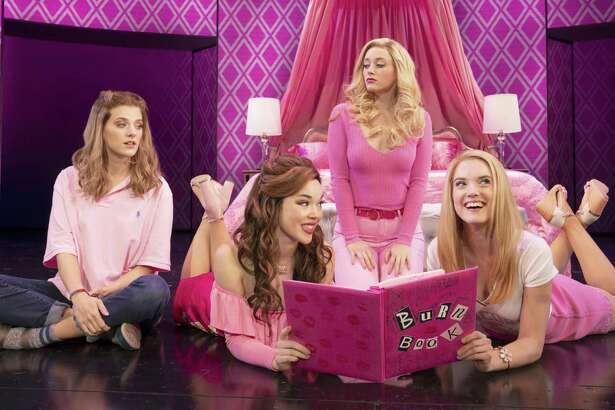 """Mean Girls"" will make its Alamo City debut during the 2020-21 Broadway in San Antonio season at the Majestic Theatre. The touring production features Danielle Wade, from left, Megan Masako Haley, Mariah Rose Faith and Jonalyn Saxer."