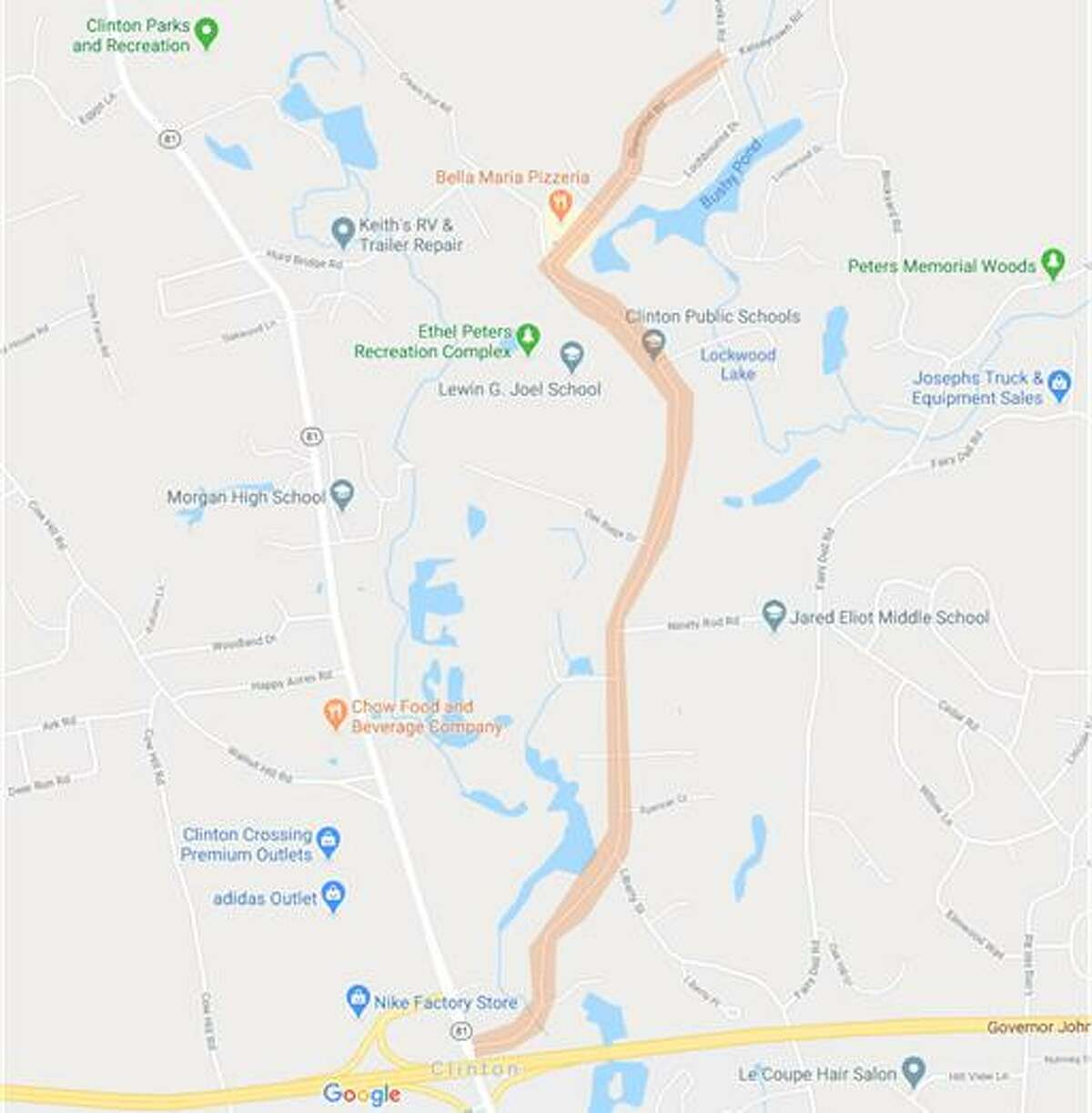 Connecticut Water will be replacing 9,500 feet, or about 1.8 miles, of a 100-year-old water main in Clinton along Glenwood Road between Route 81 and Iron Works Road.