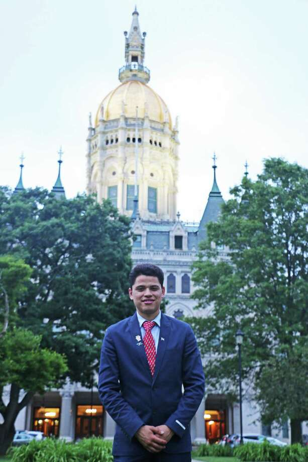 Michael Hernandez is a student at the University of Connecticut. Photo: Contributed Photo