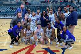 The Lady Cougars are scheduled to face Heights in the Class 6A Region 3 regional round, Feb. 24 at 5:30 p.m., at the Merrell Center.