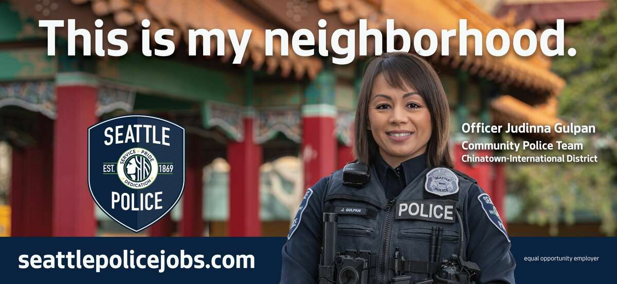 The Seattle Police Department, along with the mayor of Seattle and Councilmember Lisa Herbold announced a new recruitment campaign with the idea of highlighting officers on staff and drawing applicants from Seattle neighborhoods. To read a few of the statistics and numbers thrown around by Seattle city leaders, click through the gallery.