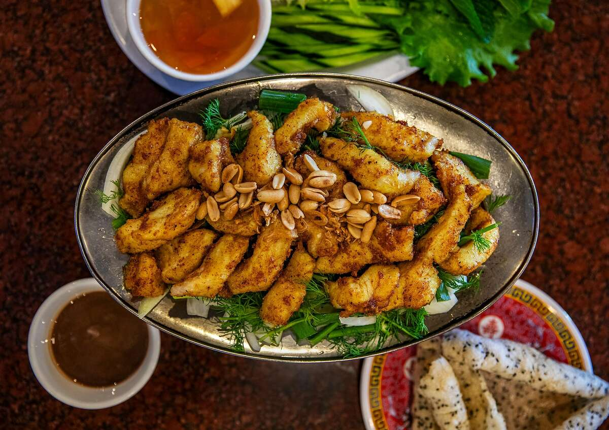 Cha Ca La Vong at Thien Long on Monday, Feb. 17, 2020 in San Jose, Calif.