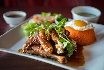 Com Ga Roti (Huhn mit Reis) bei Pho Ga Nha am Dienstag, 18. Februar 2020 in San Jose, Kalifornien.