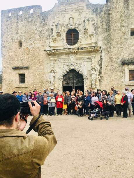 The Tap Pilam Coahuiltecan Nation welcomed (Sunday, Feb. 23, 2020) about 70 descendants of Gaspar Romero, who lived in Mission San José, and José Damacio de la Cruz, the mission's last gobernador, or chief. The event was part of an unofficial event that celebrated the 300th anniversary of Mission San José.