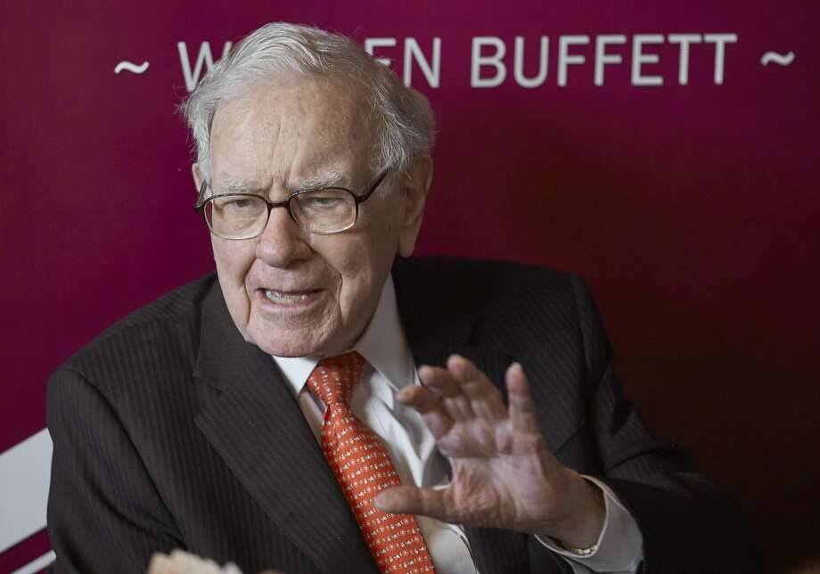 Warren Buffett, chairman and CEO of Berkshire Hathaway, will be paid in stock for his company's $10 billion investment in Occidental last year. Photo: Nati Harnik, Associated Press
