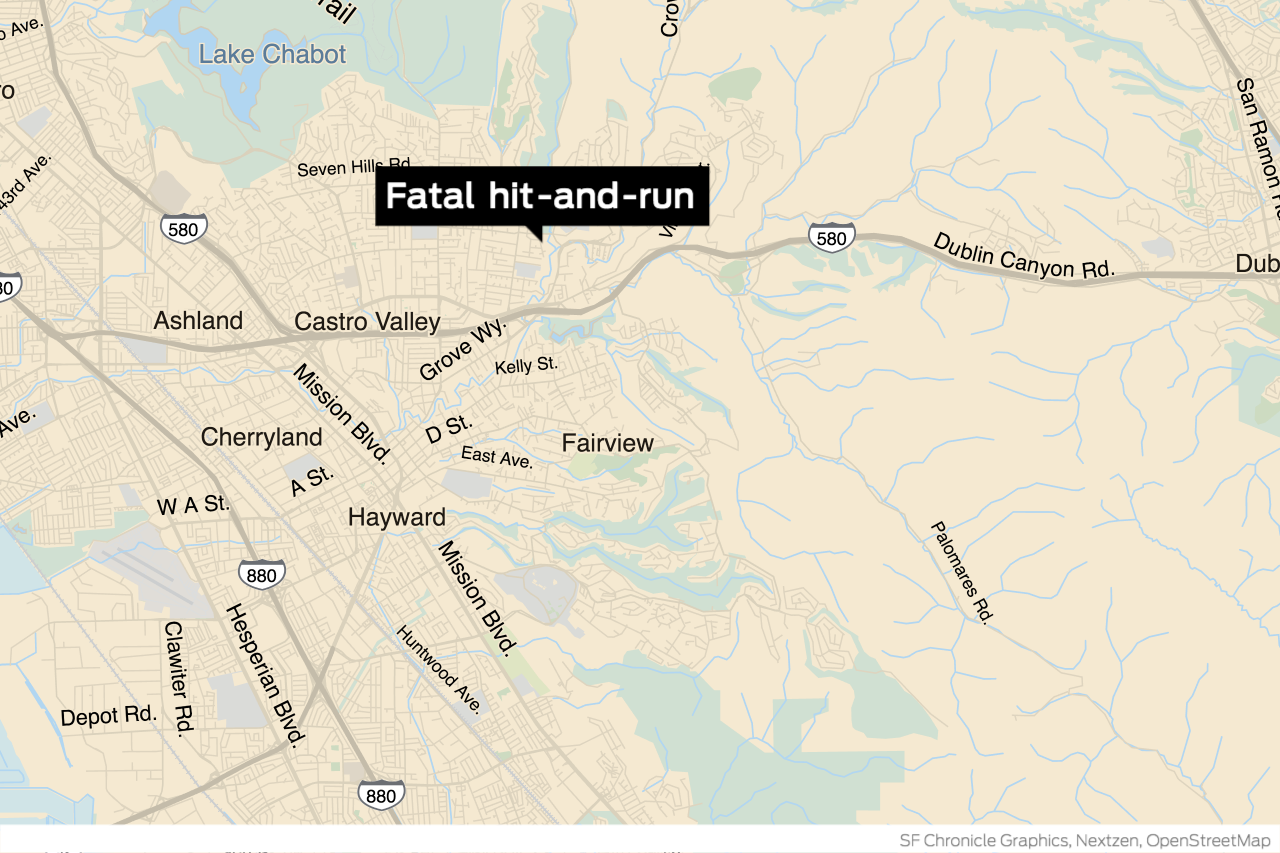 12-year-old girl dies after being struck by a hit-and-run driver in Castro Valley