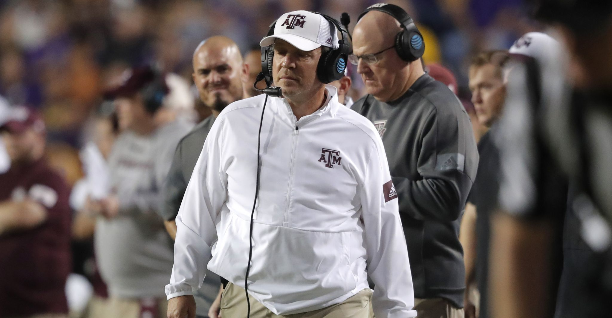 Texas A&M's Jimbo Fisher rounds out 2020 staff
