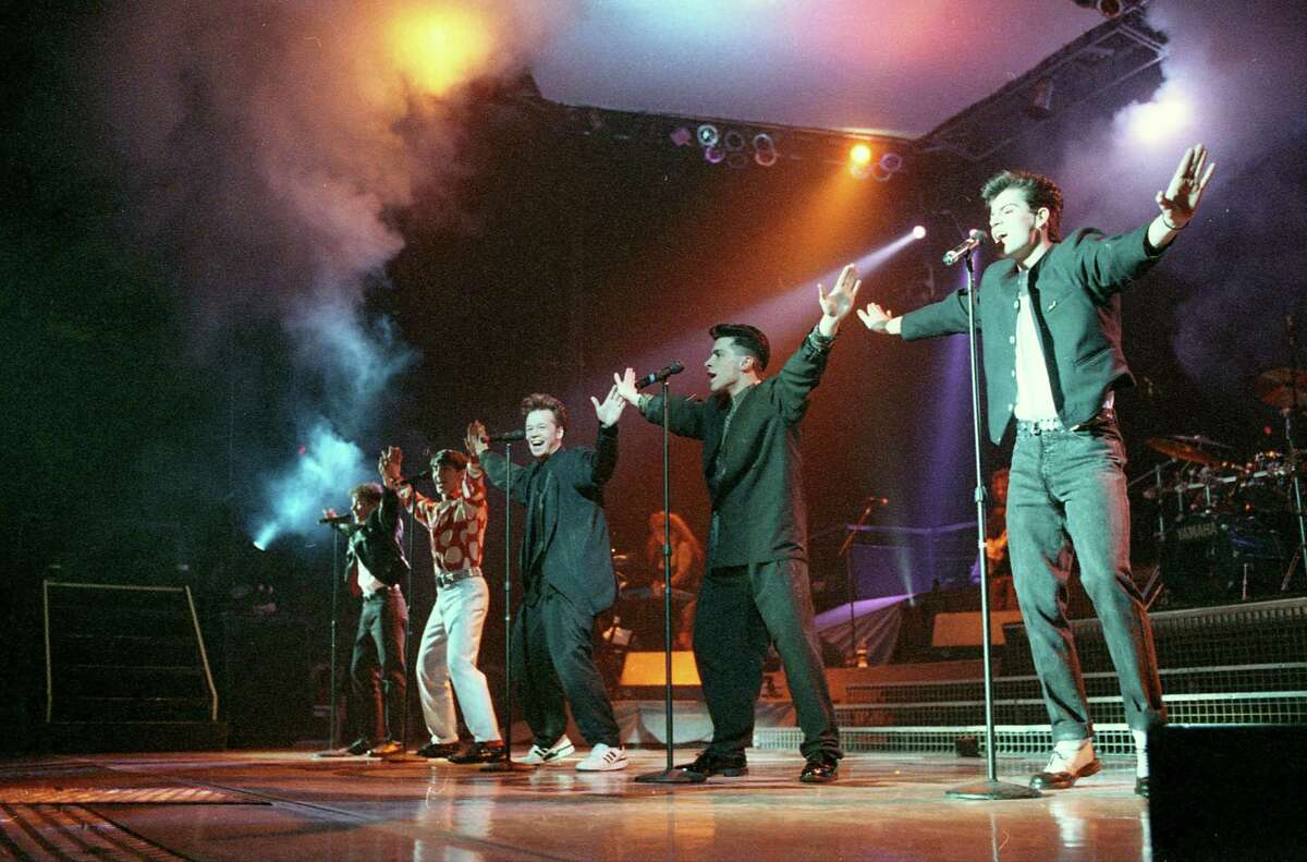 New Kids on the Block at the Summit, Feb. 10, 1990.
