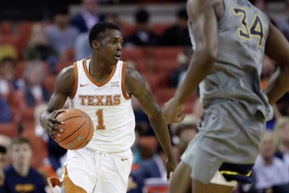 Texas sophomore guard Andrew Jones, one of only eight scholarship players available for the Longhorns, scored a game-high 22 points.