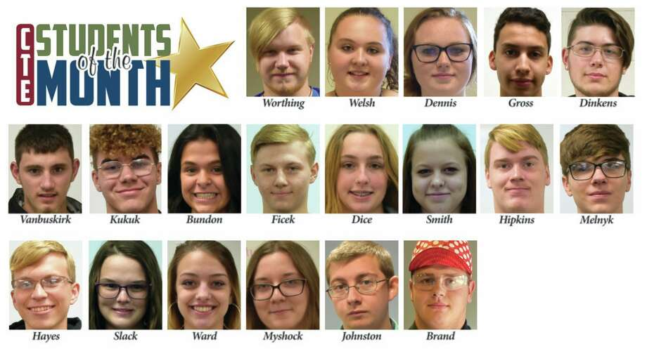 These are the January students of the month. (Image provided)