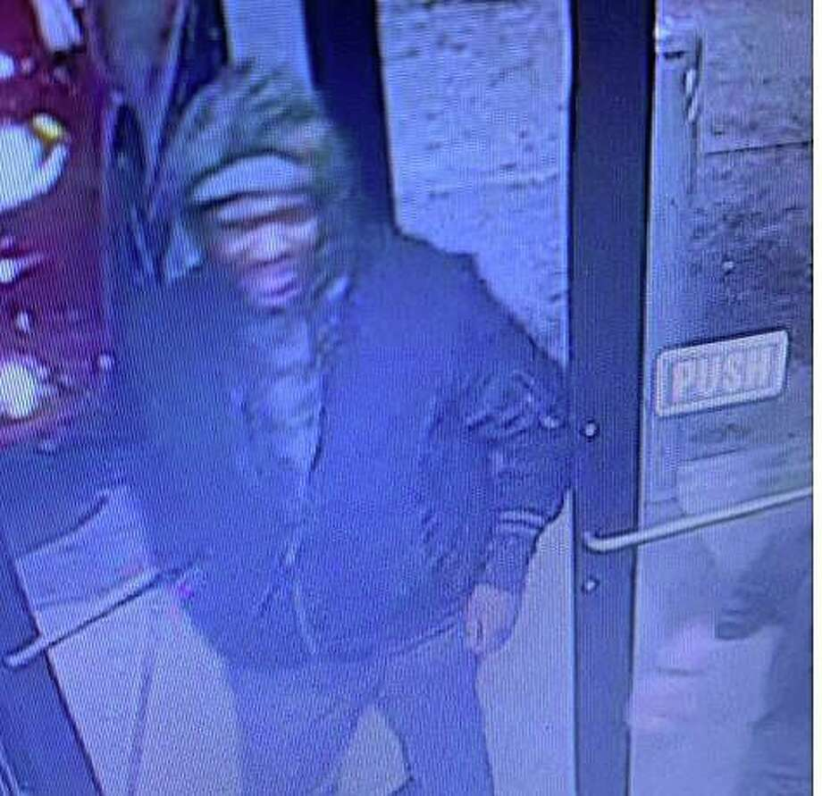 Police are asking for the public's help in identifying a suspect who stole around 30 cartons of cigarettes from a store at a Citgo station early Monday, Feb. 24, 2020 in Colchester. The robbery at the South Main Street business happened around 2:40 a.m Photo: State Police Photo