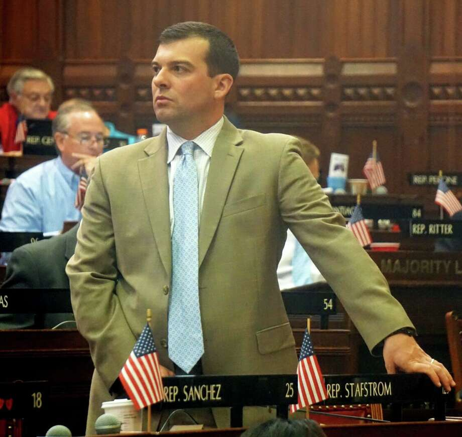 State Rep. Steve Stafstrom, D-Bridgeport, co-chairman of the Judiciary Committee Photo: Emilie Munson / Hearst Connecticut Media / Connecticut Post