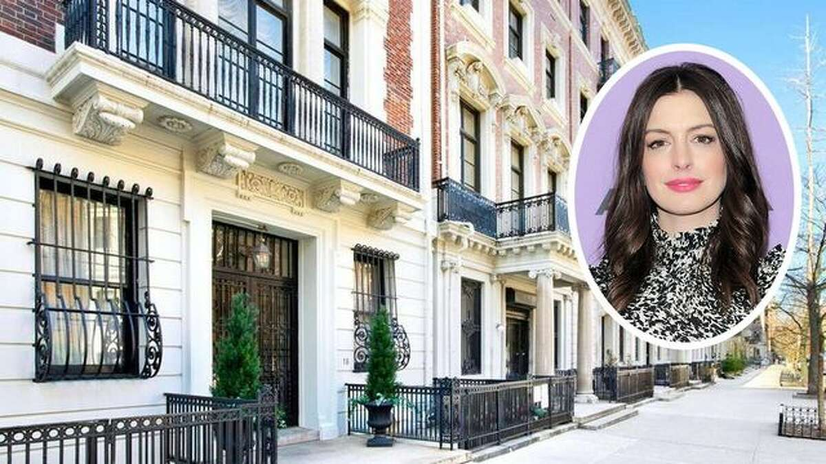 Anne Hathaway and husband Adam Shulman have listed their Manhattan penthouse for $3.5 million. They have a home in the NYC suburb of Westport, Conn.
