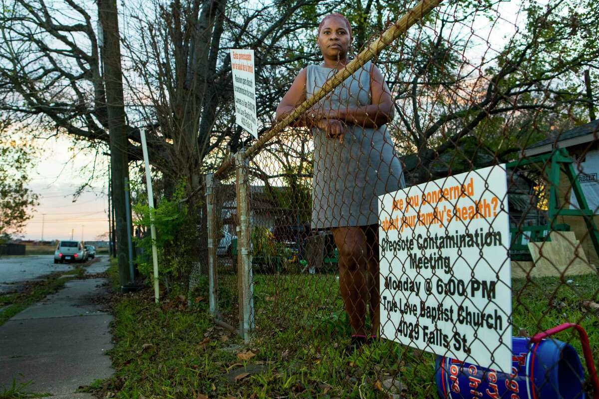Nearly 13 months after a cancer cluster was detected right in northeast Houston, a new cancer cluster has emerged in Houston's historically black Fifth Ward and Kashmere Gardens neighborhoods. Featured image: Sandra Edwards stands in front of her Fifth Ward home.