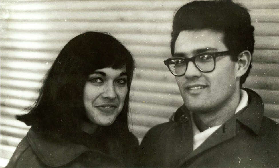 Marlene and Georges Belfort as a young couple in Cape Town, South Africa in 1962.