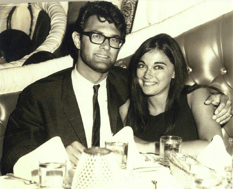 Marlene and Georges Belfort in 1967 in Las Vegas, shortly before their wedding in Cape Town.