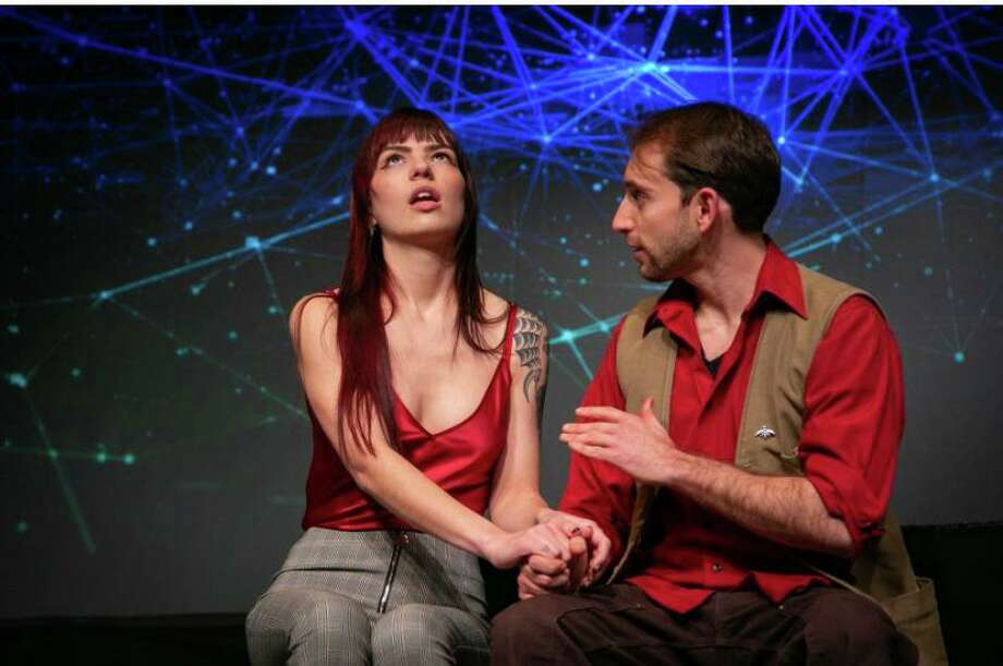 Constellations will be staged through March 7 at the TheatreWorks, 5 Brookside Avenue, New Milford. Tickets are $20-$25. For more information, visit theatreworks.us. Photo: Ghostlight Photography / Contributed Photo /