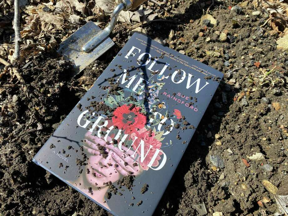 "Sue Rainsford's debut novel ""Follow Me to Ground"" is a dark tale. Photo: TinaMarie Craven / Hearst Connecticut Media /"