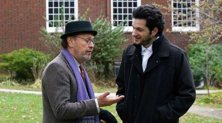 "Billy Crystal and Ben Schwartz star in ""Standing Up, Falling Down."" Photo: Contributed Photo /"