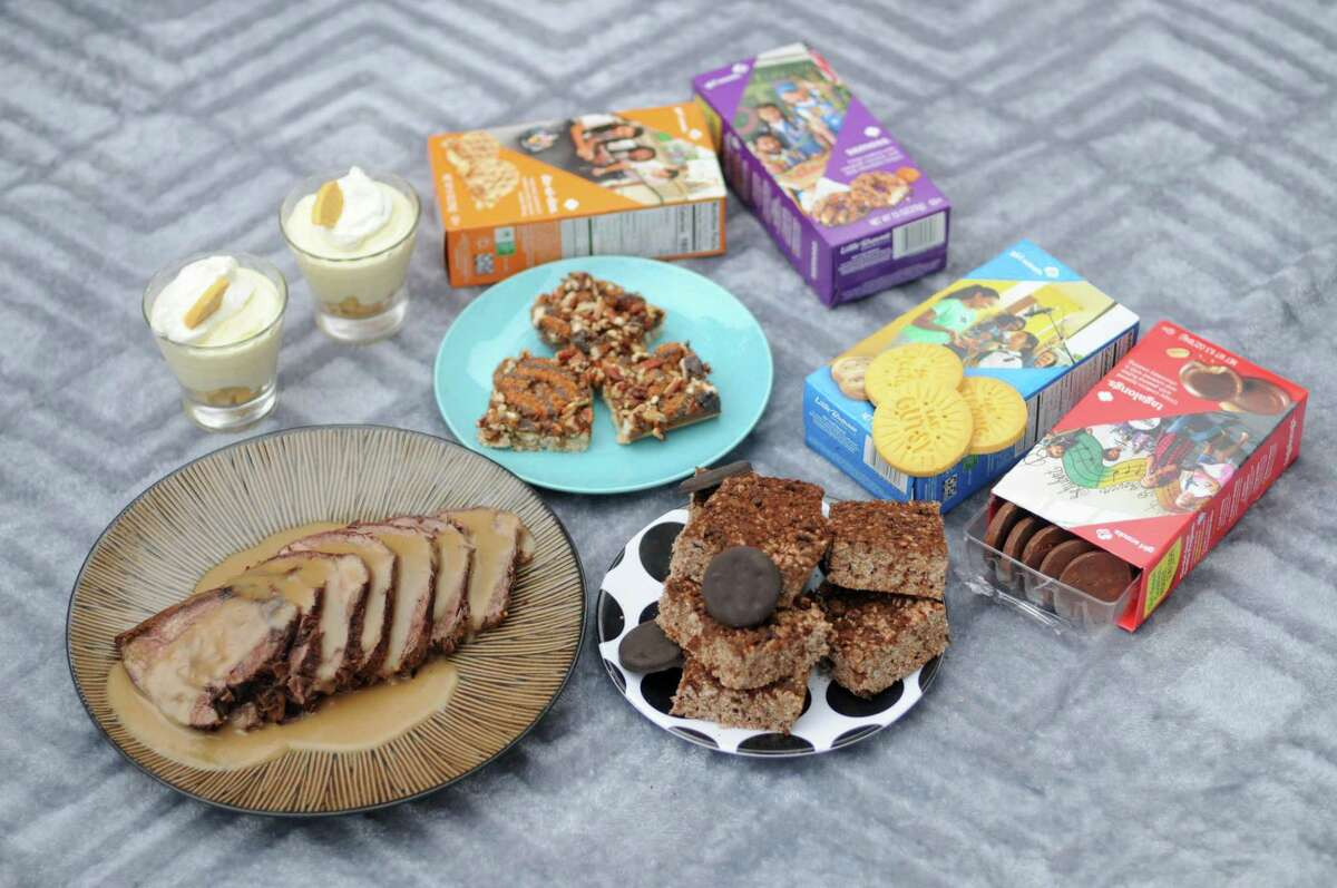 Girl Scout cookies can be used in a number of more elaborate recipes.