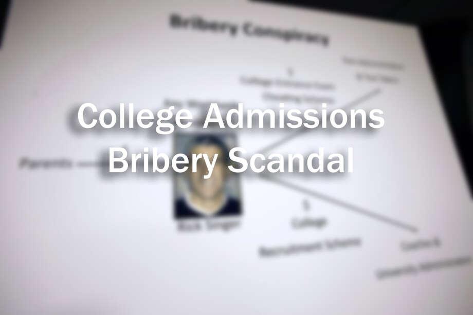 COLLEGE ADMISSIONS BRIBERY SCANDAL Photo: AP