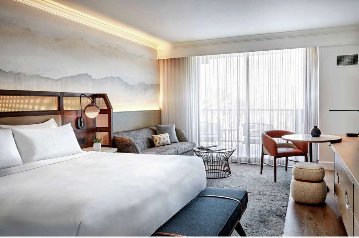 A suite onboard Virgin Voyages new Scarlet Lady, which sets sail in April 2020.