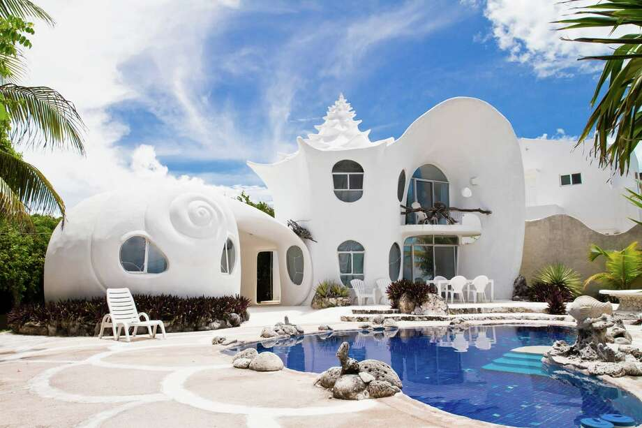 This unique Cancun home is among Airbnb's top-requested properties of the decade. Photo: Airbnb