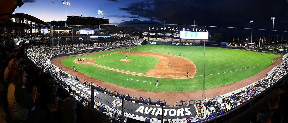 Las Vegas Ballpark opened last year and is the home to the A's Triple-A team, the Aviators.