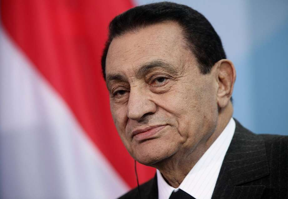Hosni Mubarak was Egypt's vice president when his mentor, President Anwar Sadat, was assassinated in 1981. Photo: Sean Gallup / Getty Images 2010