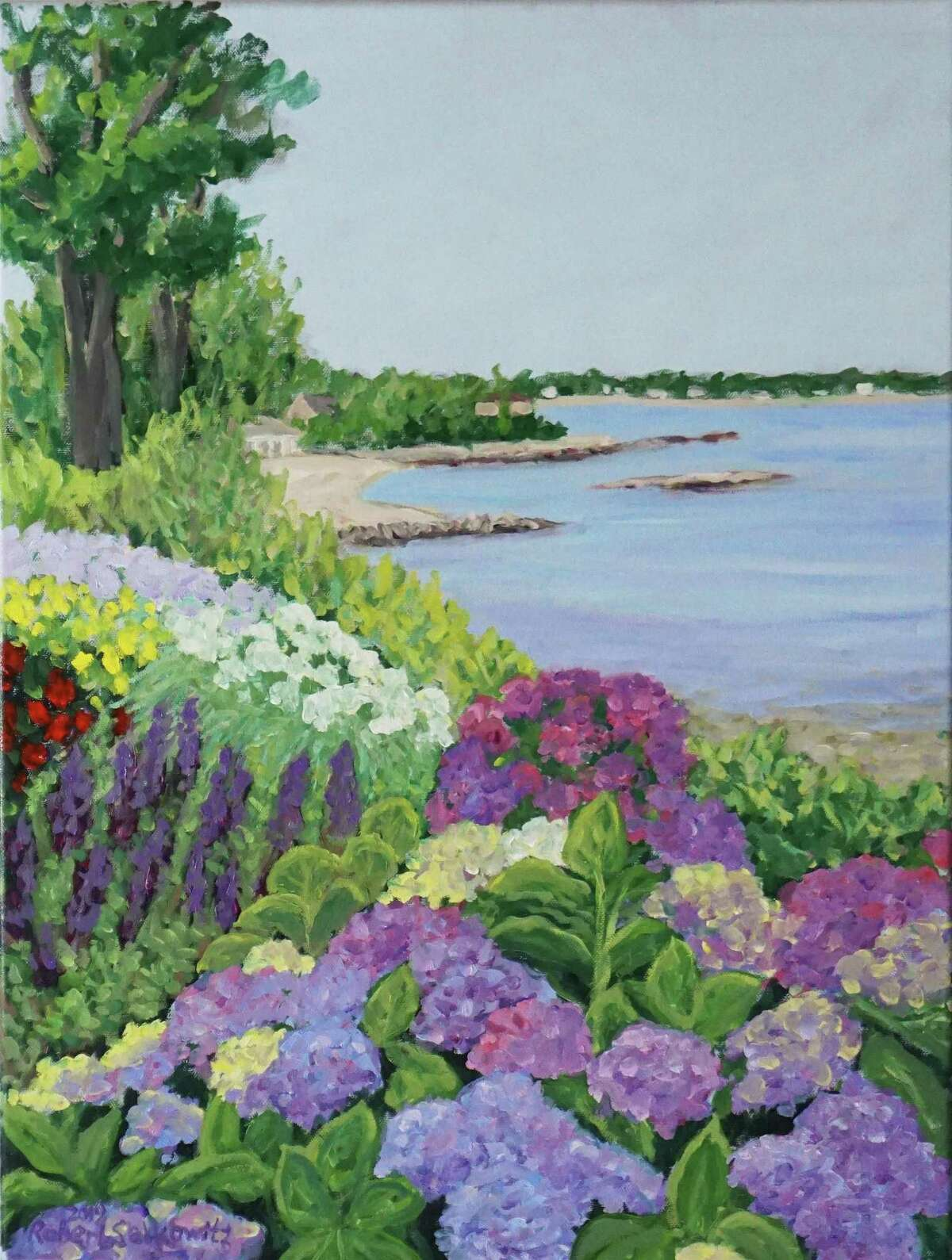 The Stamford Jewish Community Center is hosting an exhibit of a Stamford native's works with