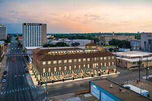The Gaineses are working on transforming a historic downtown Waco building into a boutique hotel.